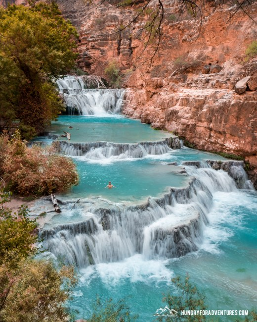 Beaver Falls at Havasu Creek