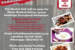 The Market Deli Ramadaan Announcement