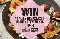 WIN a Ladies Breakfast & Beauty Treatments for 4 with Mugg & Bean Kenilworth Centre and Hair Topic