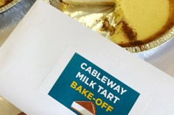 Table Mountain Milk Tart Bake-Off for #NationalMilkTartDay