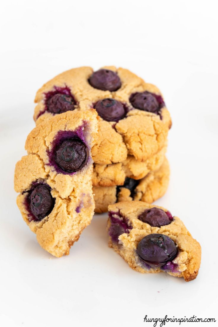 Keto Blueberry Cookies