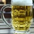 volle Bierglas