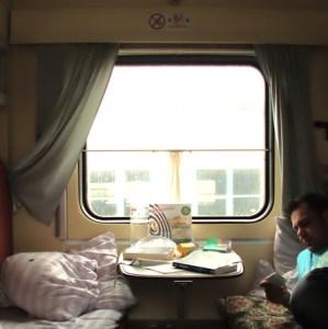 im Zug nach Sewastopol