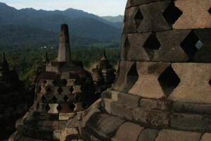 Borobudur Tempel Indonesien Java
