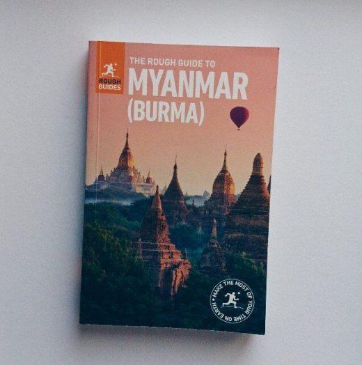Foto eines Reiseführers für Myanmar