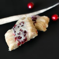 Fresh Cranberry Butter Cookies