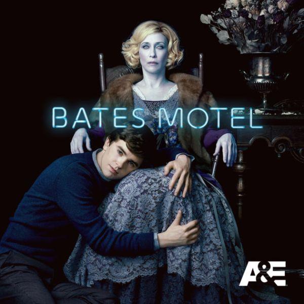 Bates Motel Norman Bates and Norma Bates