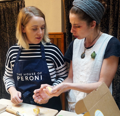 Peroni pasta masterclass at Gusto Heswall