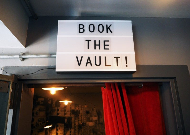 Book the Vault at Elephant Bank Neston Wirral