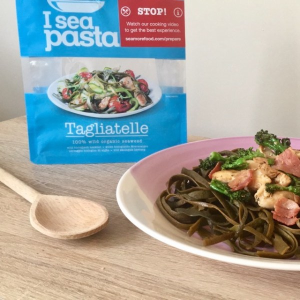 Seamore I See seaweed pasta