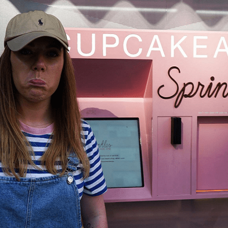 Sprinkles Cupcake ATM Lexington Avenue New York City
