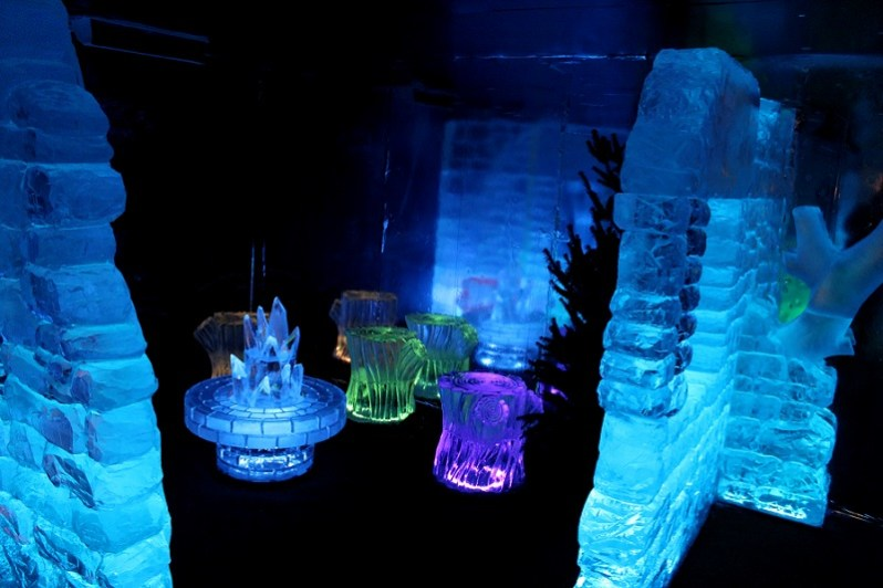 Liverpool Ice Festival ice bar