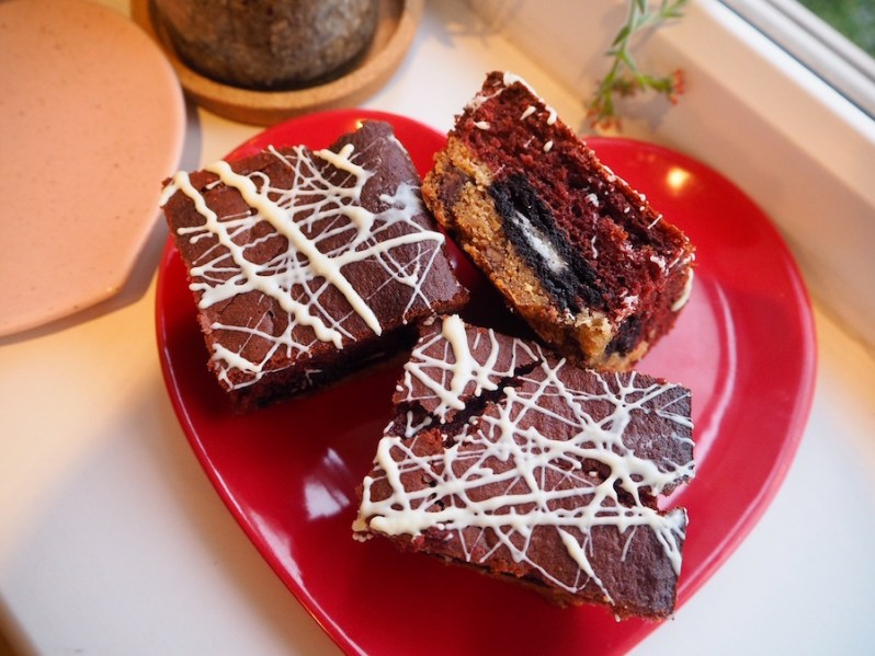 Red velvet slutty brownie recipe