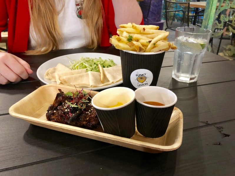 Liverpool Grand Central Food Bazaar review