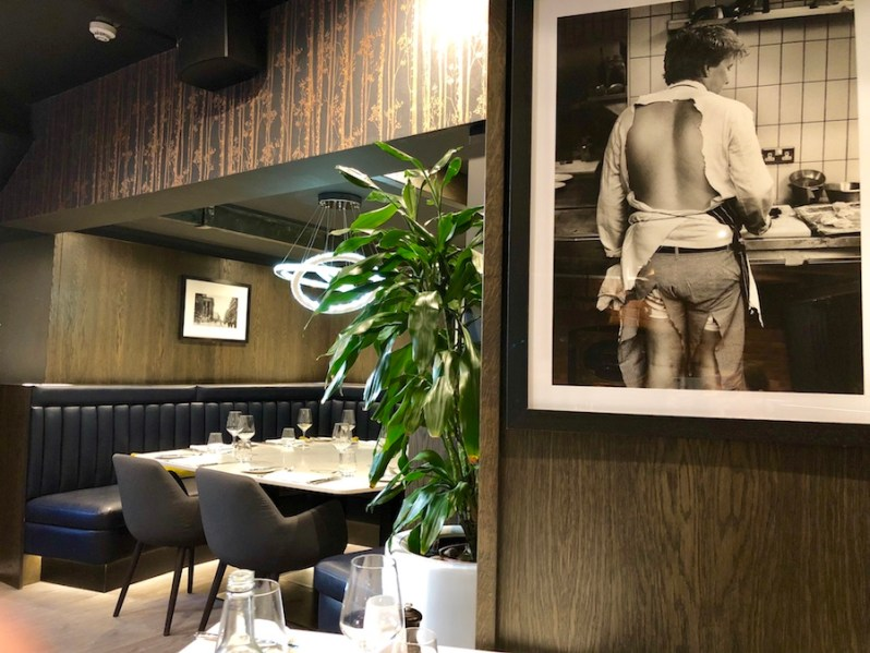 Marco Pierre White Chophouse restaurant Manchester