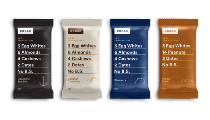 RX Bar UK review of new protein bar with no sugar and real ingredients