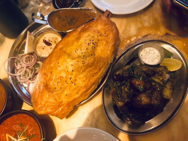 Dishoom Manchester CHef's Special dish