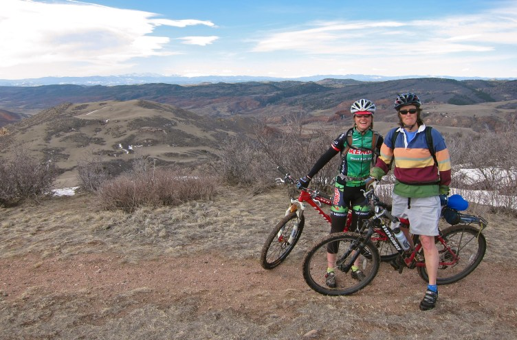 Two awesome ladies on an awesome day: Cindy and Elisabeth
