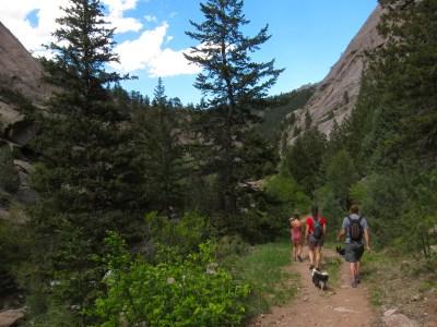 Hiking Big Elk Medow
