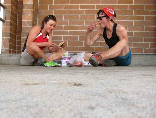 Romantic Picnic in the shade of Safeway