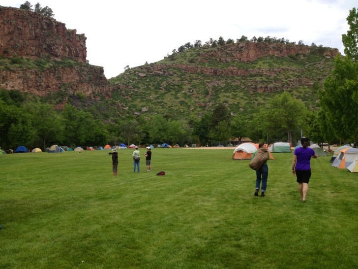 Camping in Lyons