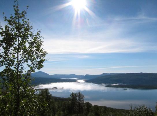Gäuta lake, Tärnaby