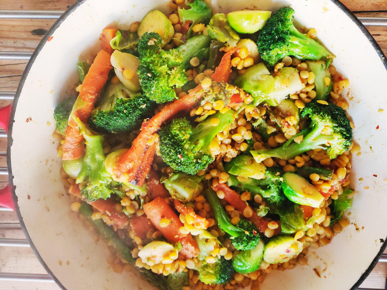 Lentils and Vegetables