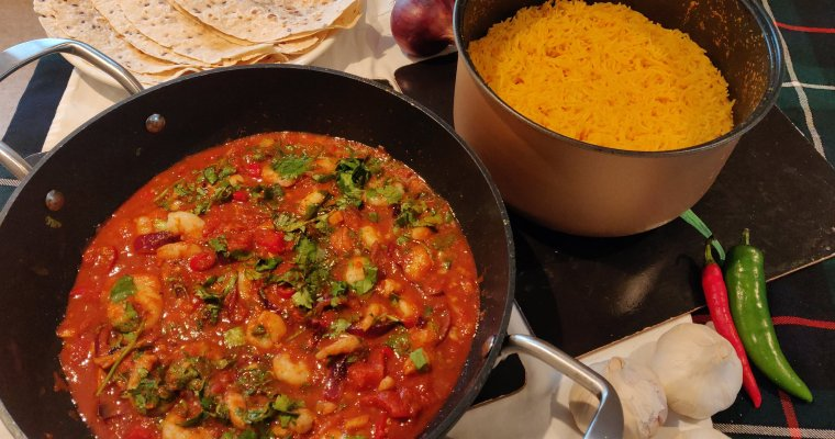 Prawn Curry in a Hurry