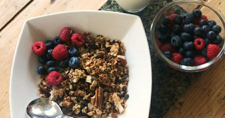 #HungryHighlander #LowGI #Nut #Seed #Granola Low GI Nut and Seed Granola