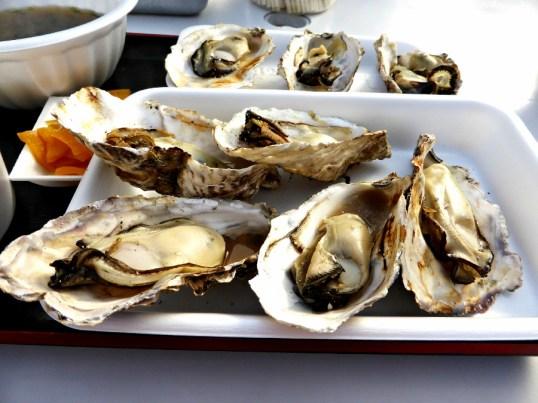 Matsushima oysters