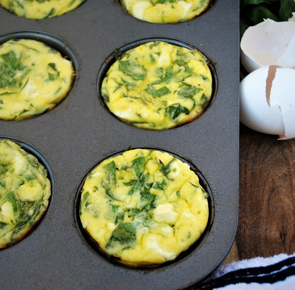 Spinach And Feta Egg Muffins Hungry Momma Nutrition