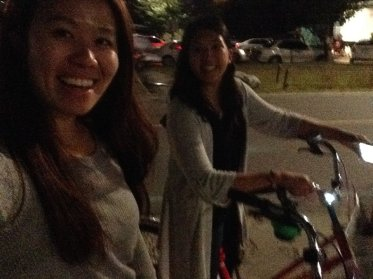 It's been awhile, but we biked without dying
