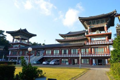 Biggest Buddhist Temple in S.Korea