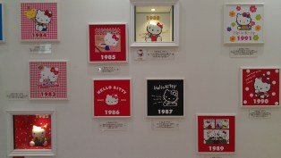 Hello Kitty over the years