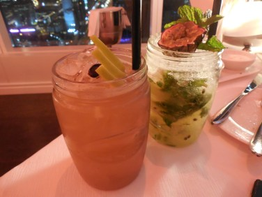Candy Apple and Passion fruit Mocktail