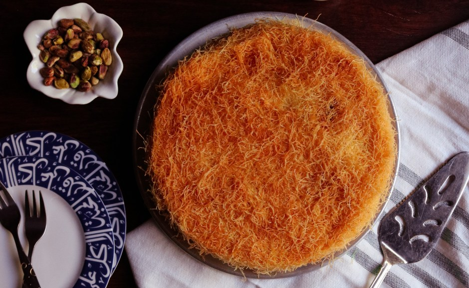 Cheese Kunafa Recipe