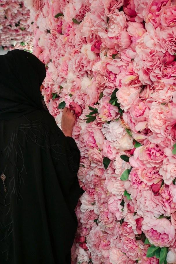 Floral cafes in Dubai