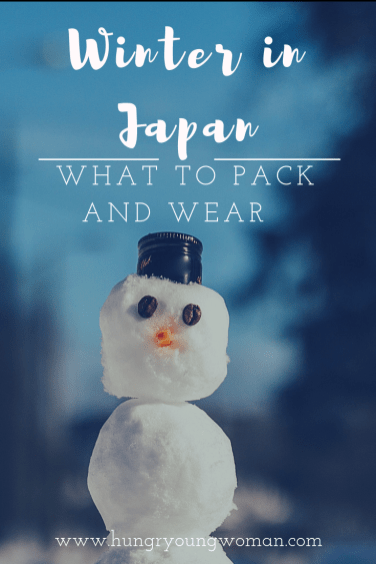 What to Pack for Winter in Japan