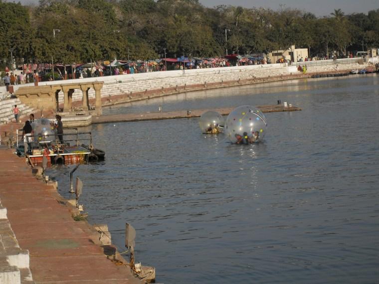 Sabarmati River in Ahmedabad