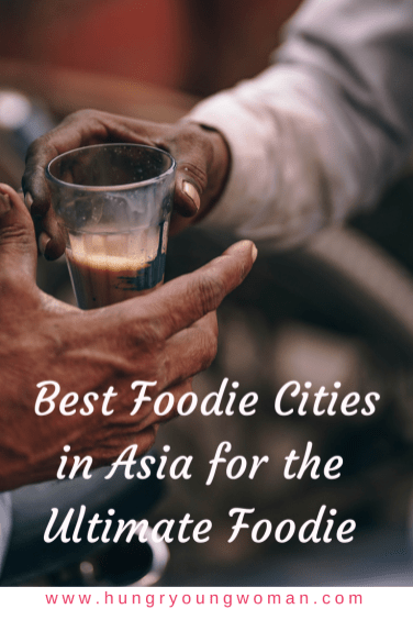 The top food cities in Asia that every foodie should try! Of course this includes much more than the Singapore and cities in Thailand. Check this list out..