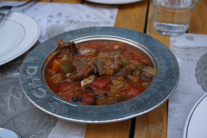 Turkish stew at Ciya