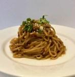 A plate of damn good noodles