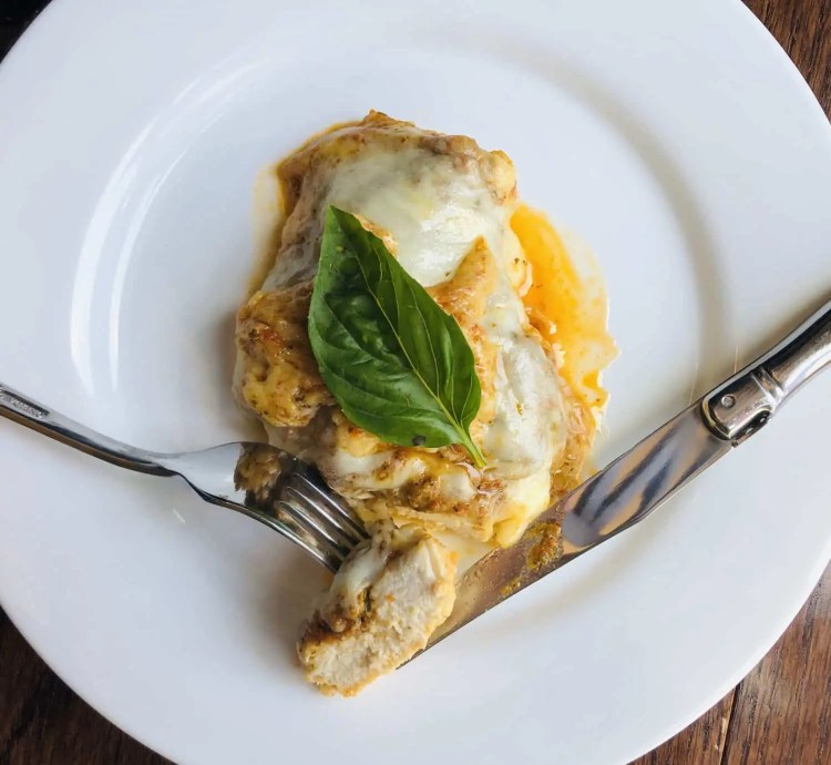 Sun Dried Tomato & Basil Pesto Chicken Melt