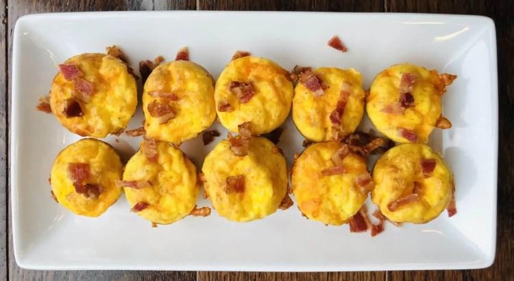 Bacon & Cheese Egg Bites