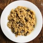 Slow Cooker Mushroom Rice