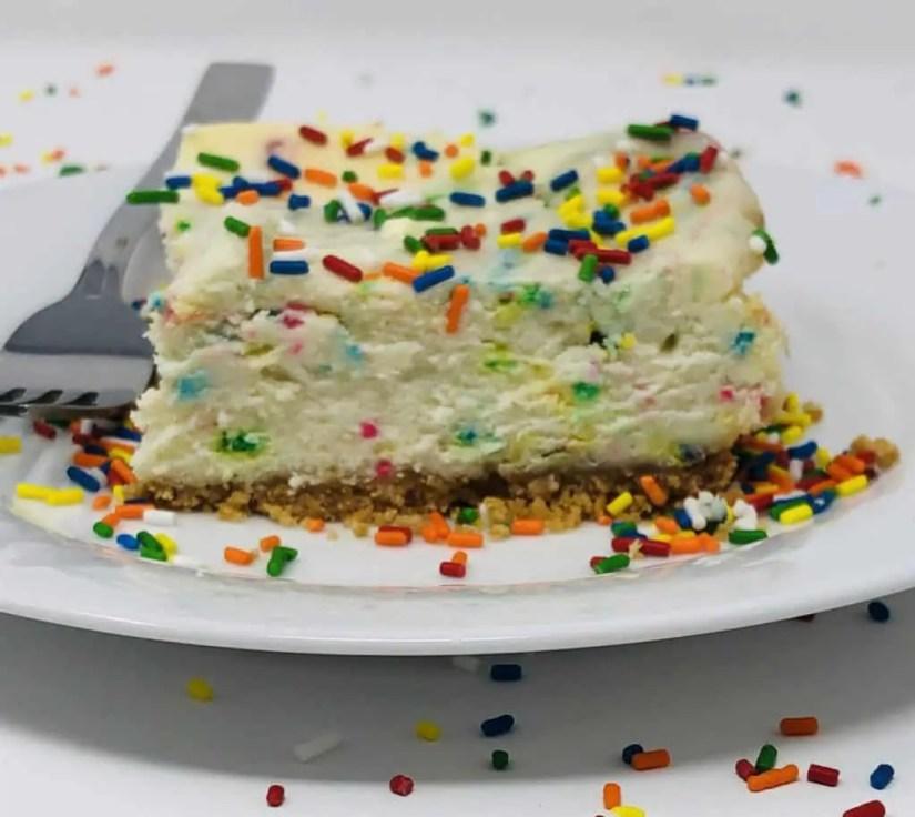 The Best Funfetti Cheesecake