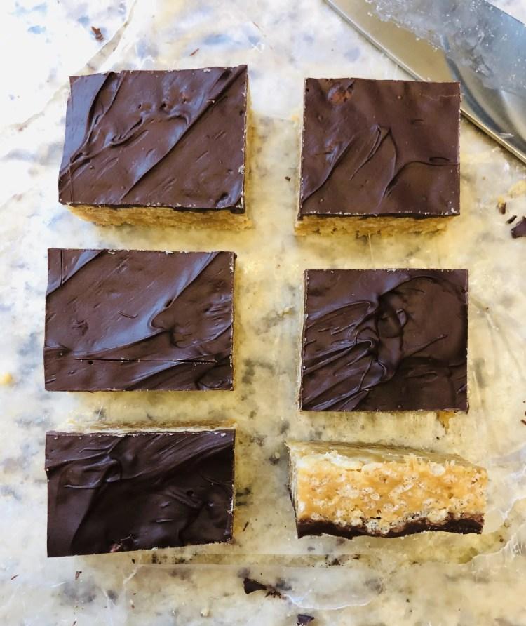 Chocolate Peanut Butter Krispies