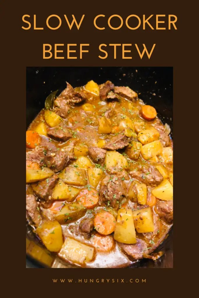Slow Cooker Beef Stew Pin