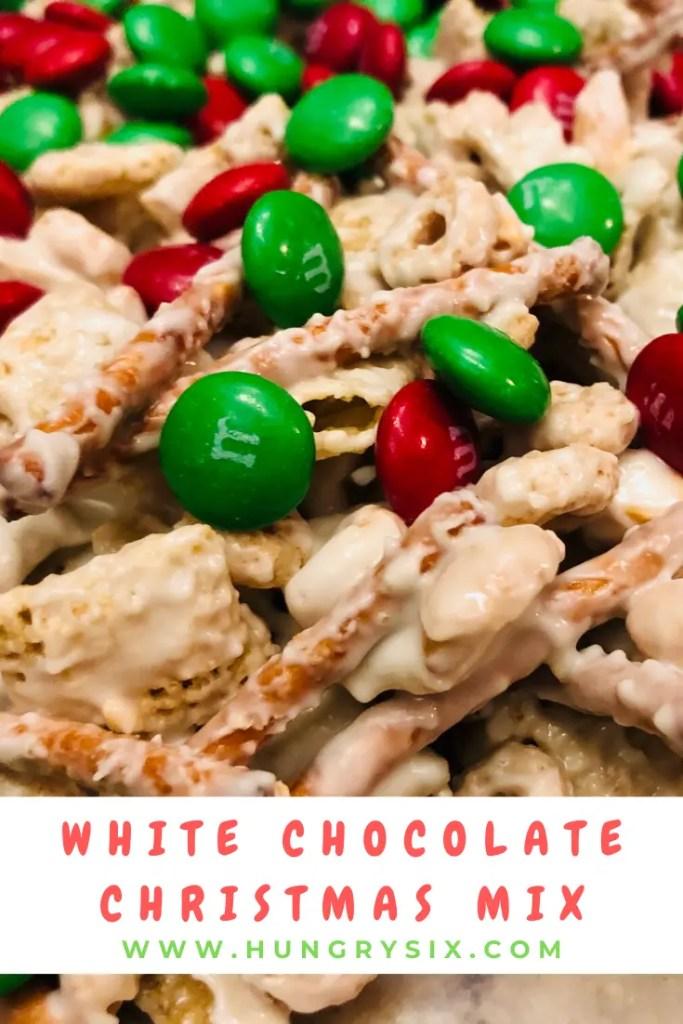 White Chocolate Christmas Mix Pin