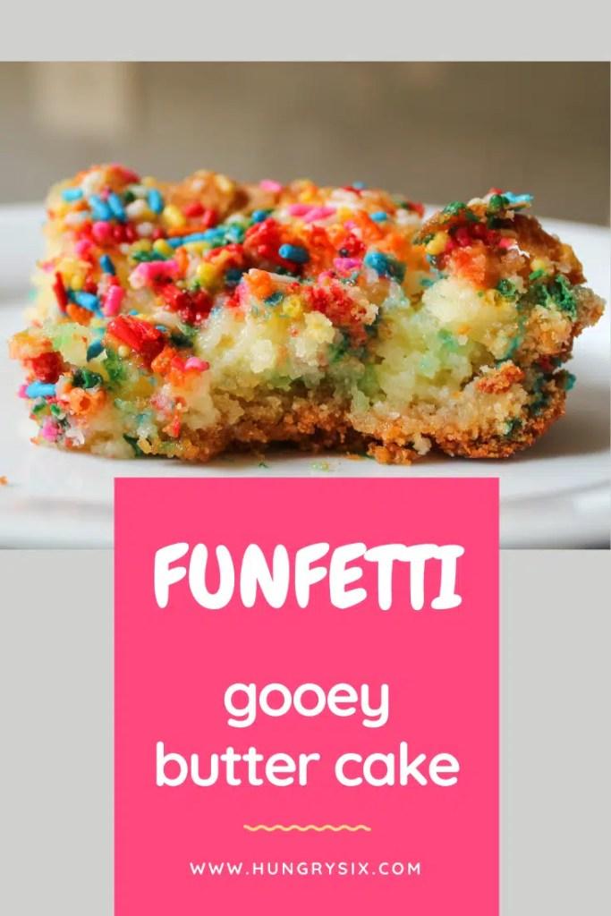 Funfetti Gooey Butter Cake